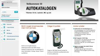 KGK lanserer e-handels løsning i Norge - Autokatalogen.no