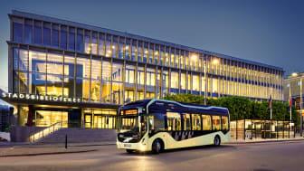Premiär för Göteborgs nya elbusslinje