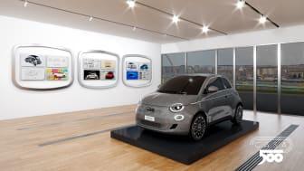 "Tillykke med fødselsdagen, Fiat 500! Velkommen til Virtual Casa 500 og til den nye 500 ""la prima"""