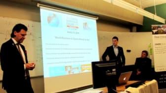 Världskonferens kring Affärer och Sport i Åre 2014