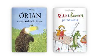 Fjärde veckan av BOK HAPPY MEAL med böcker av  Lars Klinting och Siri Melchior