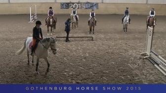 """Gothenburg Horse Show storsatsar på ungdomar med """"världstävling"""" i Billdal och clinic med Nellie och Smilla Berntsson"""