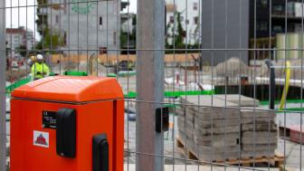 Sernekes val av AddMobile som leverantör ökar säkerheten på byggarbetsplatsen. Bild: AddMobile AB