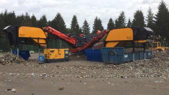 Norditeks nya koncept för ökad materialåtervinning av avfall
