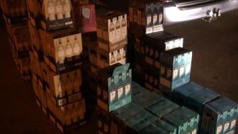 Smuggled alcohol