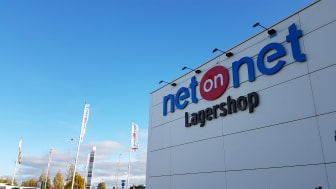 NetOnNet öppnar ny Lagershop i Halmstad under senhösten.