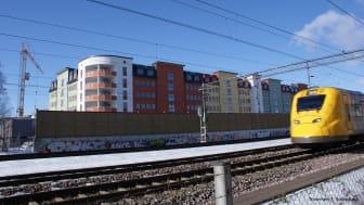 Peab väljer än en gång vibrationsdämpning från Christian Berner AB för att skapa nya bostäder