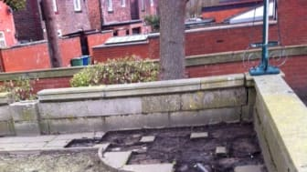 Council condemns theft from Radcliffe Cenotaph