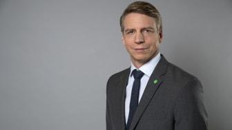 Bostadsminister Per Bolund besöker Johanneberg Science Park