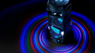 Få den ultimative festoplevelse med nye High Power-lydsystemer fra Sony
