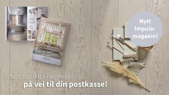 Fargerikes inspirerende magasin IMPULS 2021
