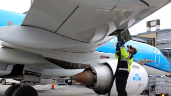 Hållbart flygresande från San Francisco med KLM