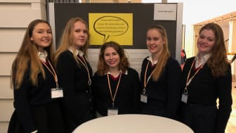 Louisenlunder Schülerinnen beim Jugend gründet Wettbewerb in Hamburg