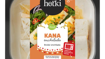 Fresh kana-enchillada