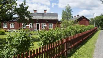 John Ericsson-gården i Långban där den nya restaurangen snart öppnar. Foto: Lars Sjöqvist/Värmlands Museum