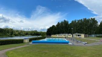 Friluftsbadet i Vinslöv, Hässleholms kommun.