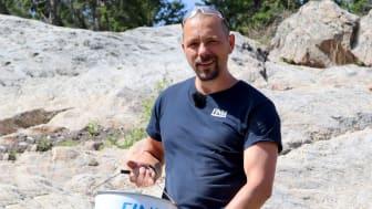 Björn bygger bo – Spräcka berg med Snigeldynamit