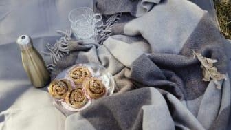 Pläd Ulle - ett mysigt original i merinoull
