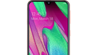 Galaxy A40_coral_front