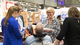 Storsatsningar på Leva & Fungera lyfter hjälpmedelsbranschen