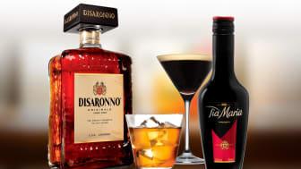 Disaronno och Tia Marias distribution tas över av Arcus Sweden AB