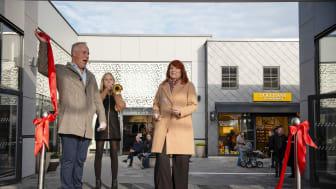 3 000 nybyggda kvadratmeter – den 24 oktober invigdes Hede Fashion Outlet
