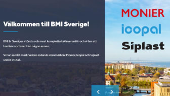 Ny gemensam webb för Monier och Icopal