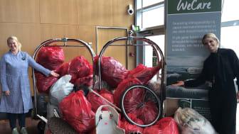 200 kg skrald blev der samlet fra naturområder på Amager