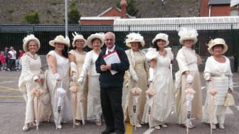Fred. Olsen Cruise Lines' Balmoral receives a  third warm welcome in the historic Port of Cobh