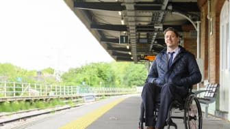 Carl Martin, GTR's new Accessibility Lead. More images can be downloaded at the bottom of this press release