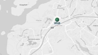 Södra Stockholm har länge saknat en besiktningsstation för tunga fordon utmed E4/E20.