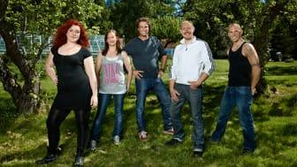 Se Midbec's tapeter i andra säsongen av Nybyggarna!