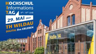 Die TH Wildau lädt am 29. Mai 2021 von 9 bis 14 Uhr Interessierte ein, das Studienangebot und den Campus der Hochschule virtuell kennenzulernen. (Bild: TH Wildau)