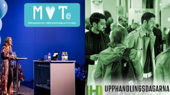 Upphandlingsdagarna och MVTe flyttas fram till juni 2021.