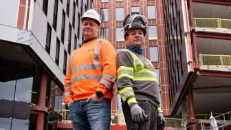 Oslos nye, smarte kontorbygning isoleres med blåseull med lav lambda