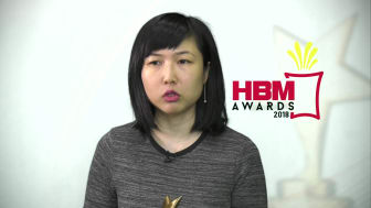 VIDEO: Isabel Kum wins Hong Bao Media Savvy Award 2018 for Best Conference Presentation