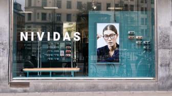 Nividas har öppnat sin första shop-in-shop på Åhléns Odenplan i Stockholm