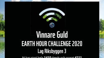 Diplom Earth Hour Challenge