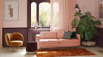 Elinor 3 personers sofa. Design: Cathrine Rudolph.