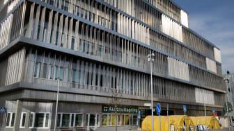 Medarbetare på Danderyds sjukhus kommer att ingå i en studie där man testar för antikroppar mot covid-19. Foto: Cecilia Larsson Lantz, Danderyds sjukhus.