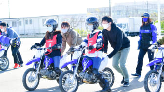 Motorcycle Lessons for Women Employees   Yamaha Motor Newsletter (Mar. 8, 2021 No. 85)