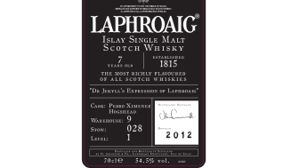 DR. JEKYLL'S EXPRESSION OF LAPHROAIG