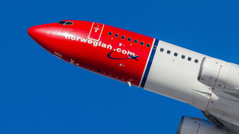 Norwegian 737-800  Foto: David Peacock