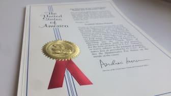 SpacenInvader opnåede i september, 2018 amerikansk patent for deres transportsystem