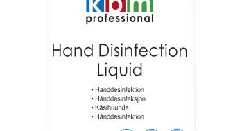 Handdesinfektion, flytande, 1 liter, KBM Professional