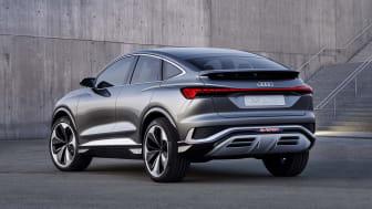 Audi viser coupévariant af elbil – Q4 Sportback e-tron
