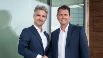 Patrik Sporre (to the left), Regional Manager for IoT & AI at Sigma IT, together with David Österlindh, Senior Director IoT & AI at Sigma IT.
