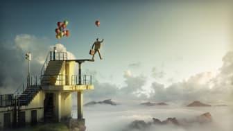 Verket Leap of Faith av Erik Johansson.