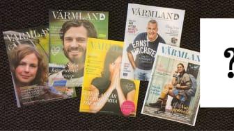 Vem är profilen som pryder omslaget på magasin Värmland 2018?