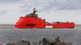 ESVAGT har erfaring i at operere i arktiske egne, eksempelvis med 'Esvagt Aurora'.
